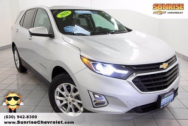 used 2018 Chevrolet Equinox car, priced at $21,486