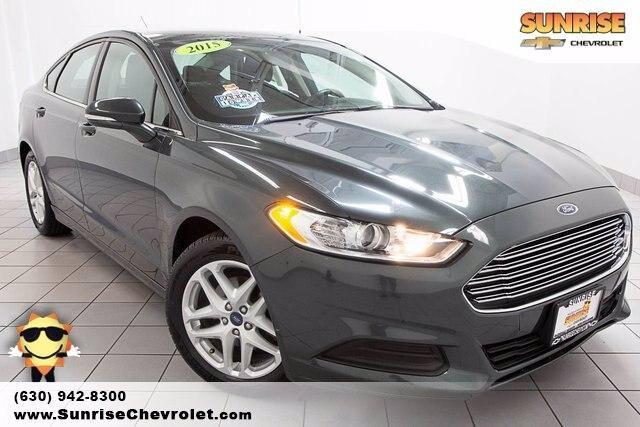 used 2015 Ford Fusion car, priced at $14,486