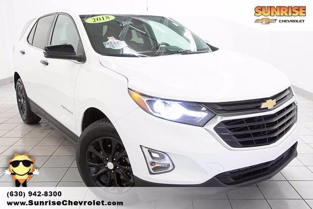 used 2018 Chevrolet Equinox car, priced at $22,986