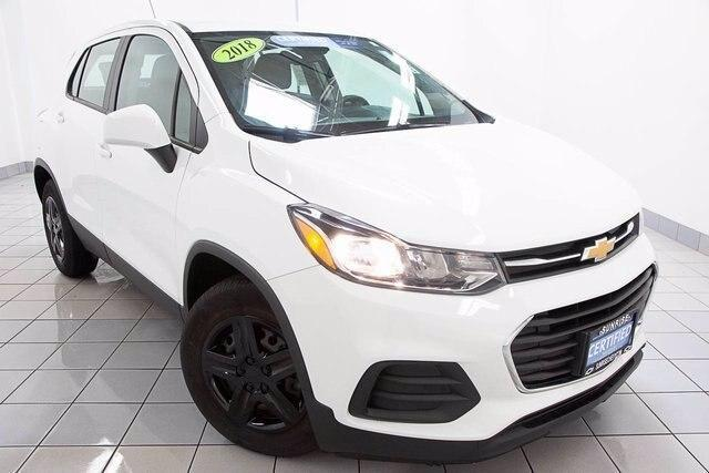 used 2018 Chevrolet Trax car, priced at $17,486