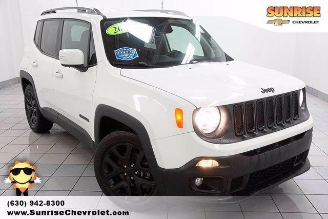 used 2018 Jeep Renegade car, priced at $19,486