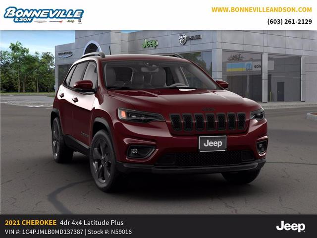 new 2021 Jeep Cherokee car, priced at $33,171