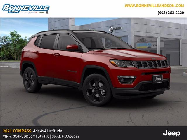 new 2021 Jeep Compass car, priced at $34,258