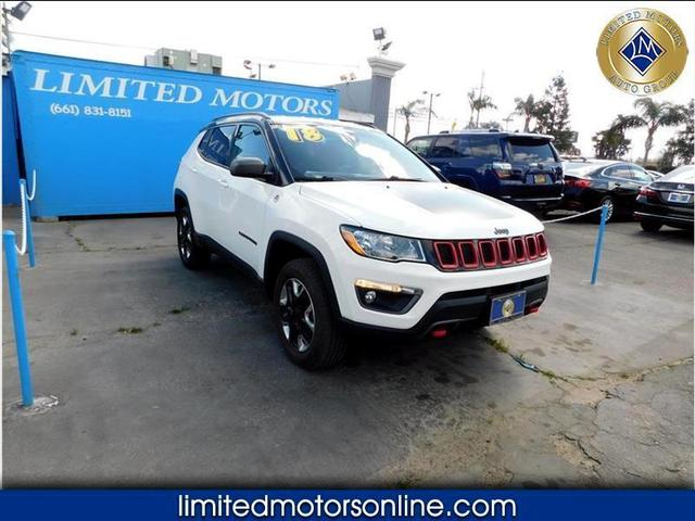 used 2018 Jeep Compass car, priced at $22,988
