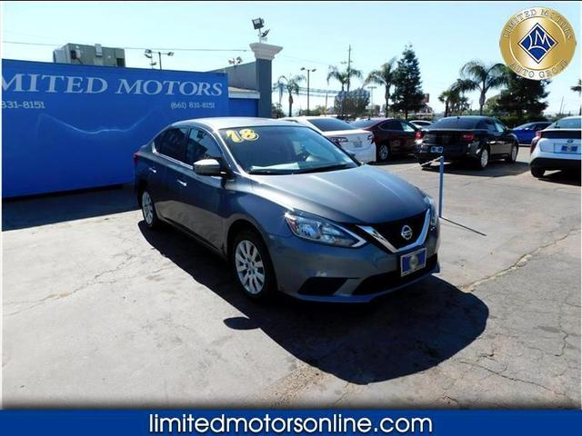 used 2018 Nissan Sentra car, priced at $16,788