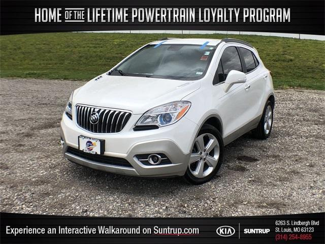 used 2015 Buick Encore car, priced at $15,245