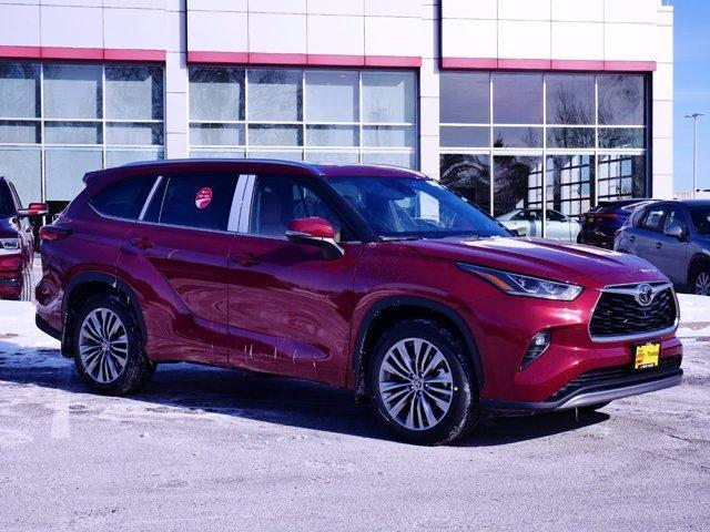 new 2021 Toyota Highlander car, priced at $50,882