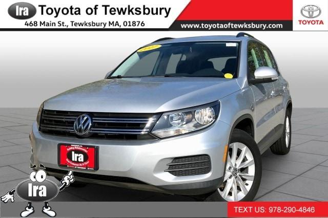 used 2017 Volkswagen Tiguan Limited car, priced at $16,975