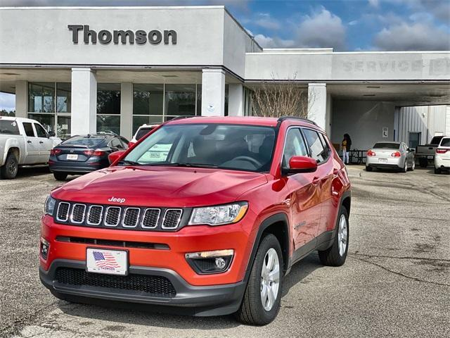 new 2021 Jeep Compass car, priced at $25,750