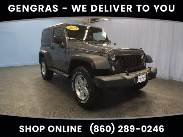 used 2015 Jeep Wrangler car, priced at $20,993