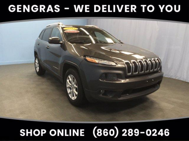 used 2017 Jeep Cherokee car, priced at $20,433