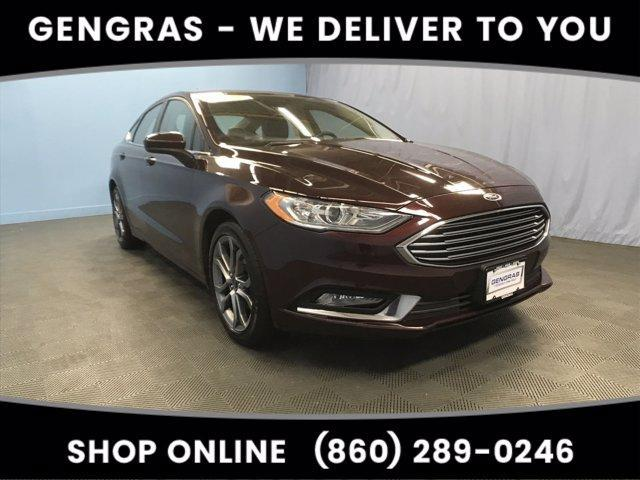 used 2017 Ford Fusion car, priced at $14,333