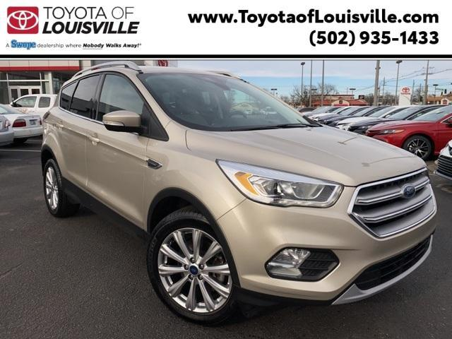 used 2017 Ford Escape car, priced at $13,838