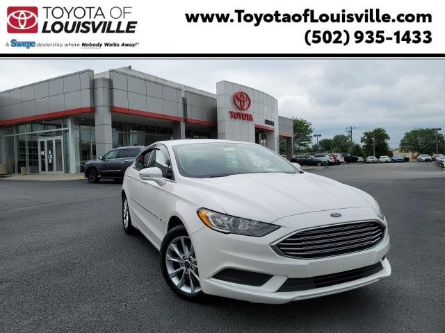 used 2017 Ford Fusion car, priced at $19,481