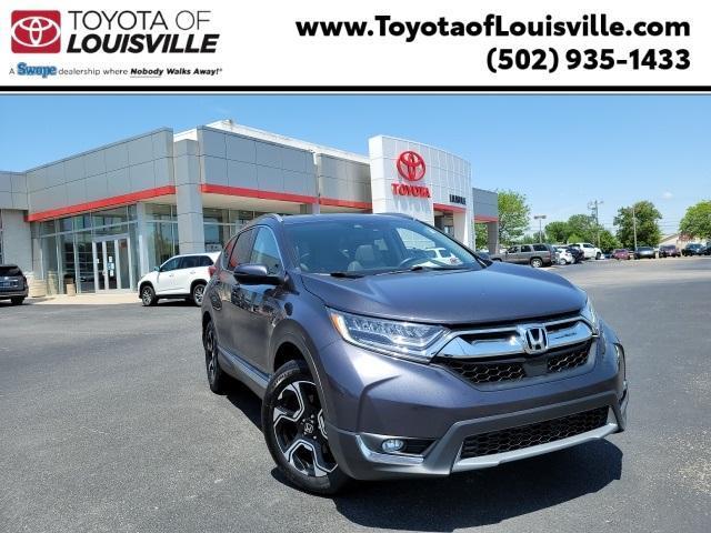 used 2018 Honda CR-V car, priced at $21,405