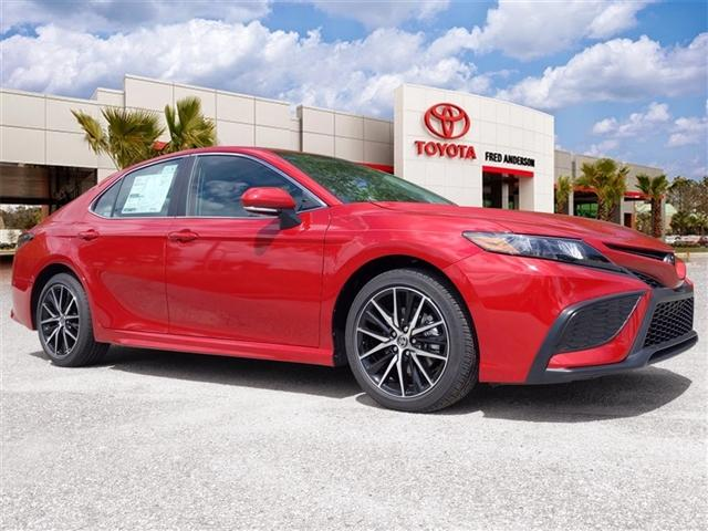 new 2021 Toyota Camry car, priced at $31,440