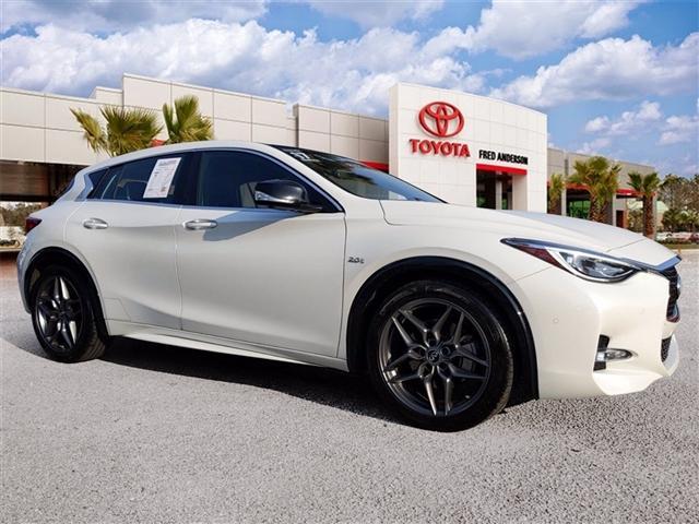 used 2017 INFINITI QX30 car, priced at $18,991