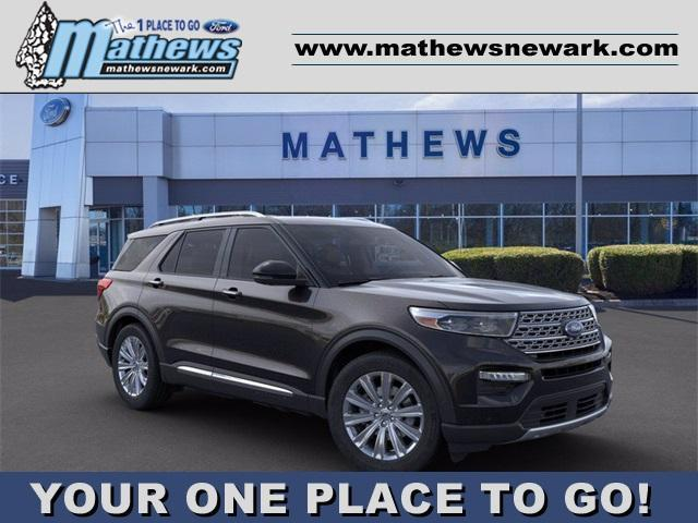 new 2021 Ford Explorer car, priced at $56,340
