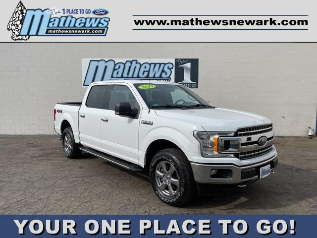 used 2018 Ford F-150 car, priced at $40,995