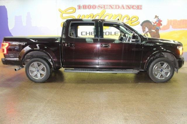 used 2018 Ford F-150 car, priced at $39,900