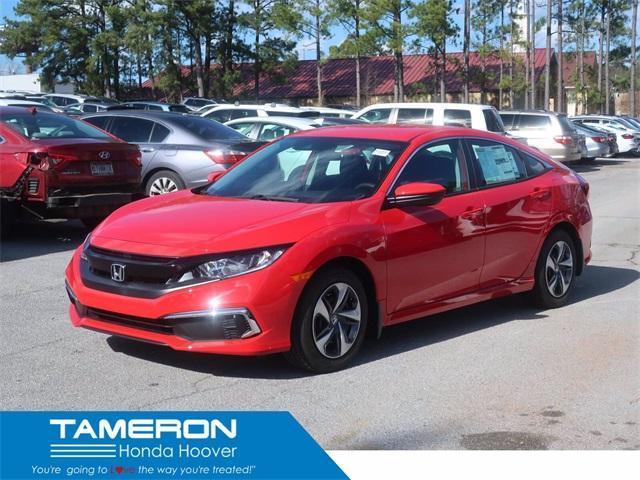 new 2021 Honda Civic car, priced at $22,245