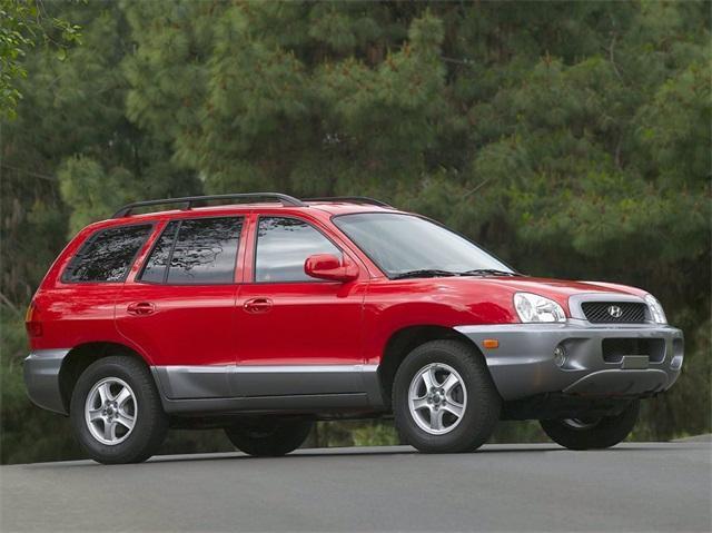used 2004 Hyundai Santa Fe car, priced at $4,655