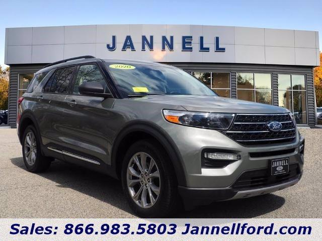 used 2020 Ford Explorer car, priced at $43,888