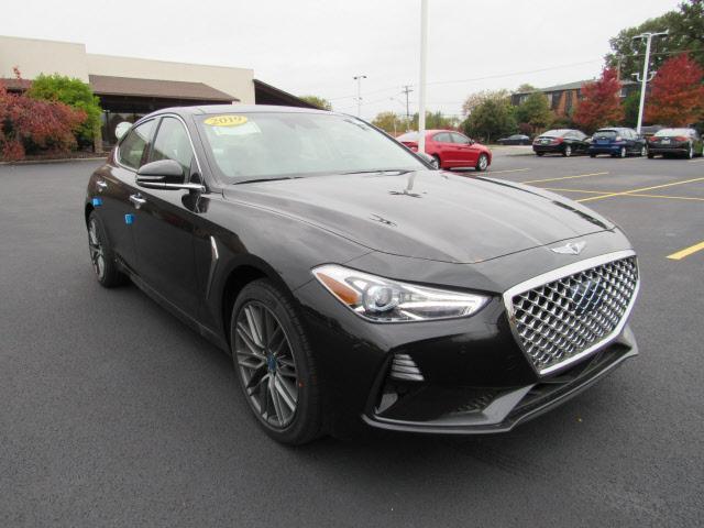 new 2019 Genesis G70 car, priced at $43,085