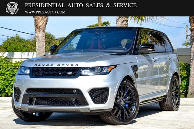 used 2017 Land Rover Range Rover Sport car, priced at $80,995