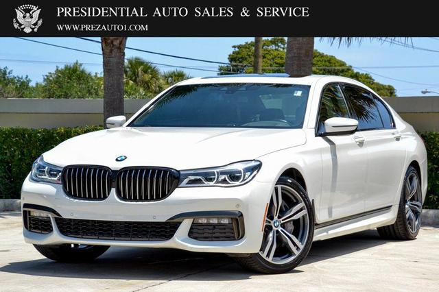 used 2019 BMW 750 car, priced at $64,995