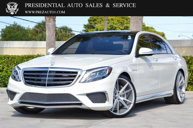 used 2017 Mercedes-Benz AMG S 65 car, priced at $123,995