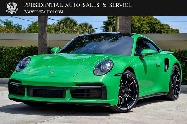 used 2021 Porsche 911 car, priced at $299,995