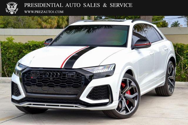 used 2020 Audi RS Q8 car, priced at $137,500
