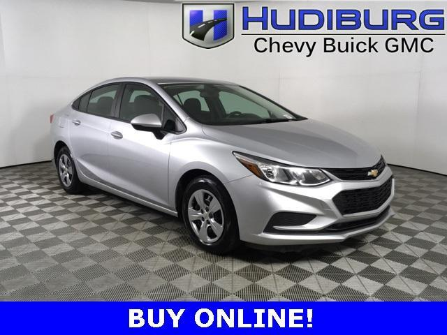 used 2018 Chevrolet Cruze car, priced at $13,990