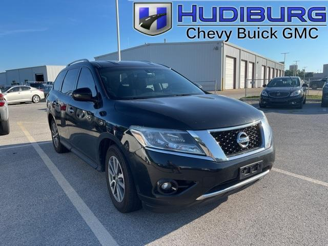 used 2015 Nissan Pathfinder car, priced at $15,490