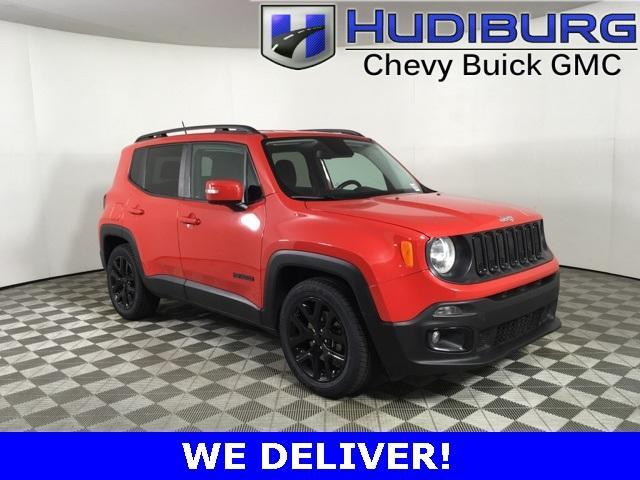 used 2017 Jeep Renegade car, priced at $16,660