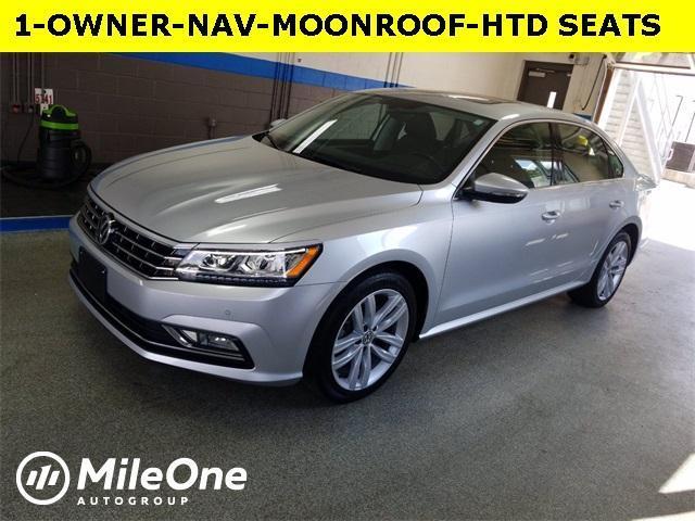 used 2018 Volkswagen Passat car, priced at $19,700