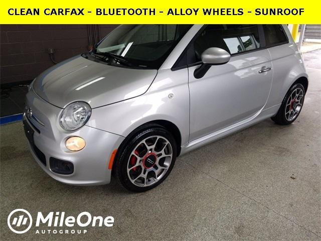 used 2012 FIAT 500 car, priced at $9,590