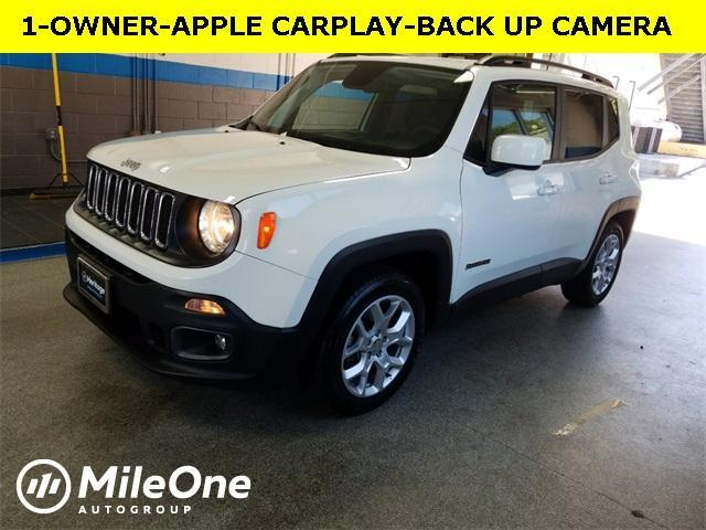 used 2018 Jeep Renegade car, priced at $20,638