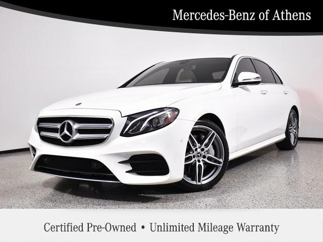 used 2018 Mercedes-Benz E-Class car, priced at $40,878