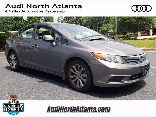 used 2012 Honda Civic car, priced at $12,991