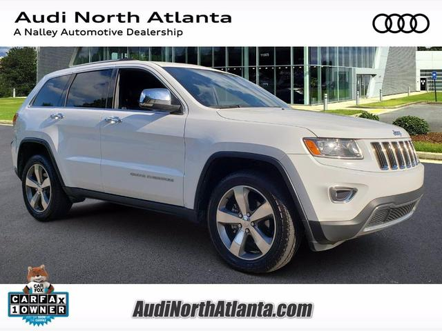 used 2015 Jeep Grand Cherokee car, priced at $18,591