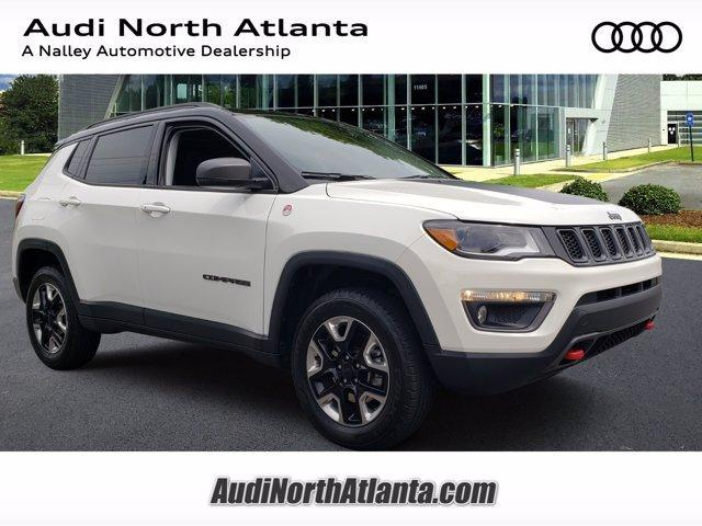 used 2018 Jeep Compass car, priced at $27,591