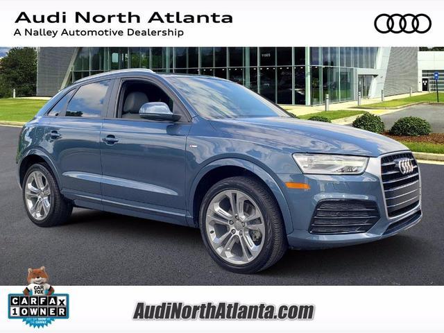 used 2018 Audi Q3 car, priced at $27,591