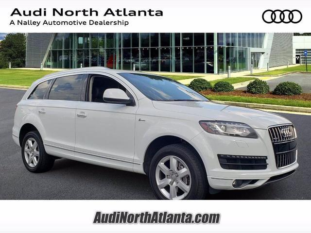 used 2015 Audi Q7 car, priced at $20,991