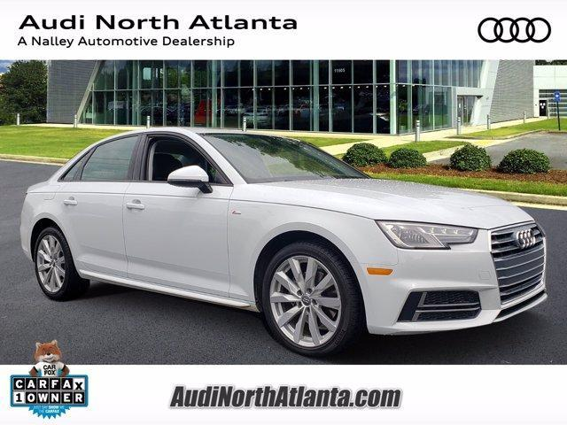 used 2018 Audi A4 car, priced at $28,991