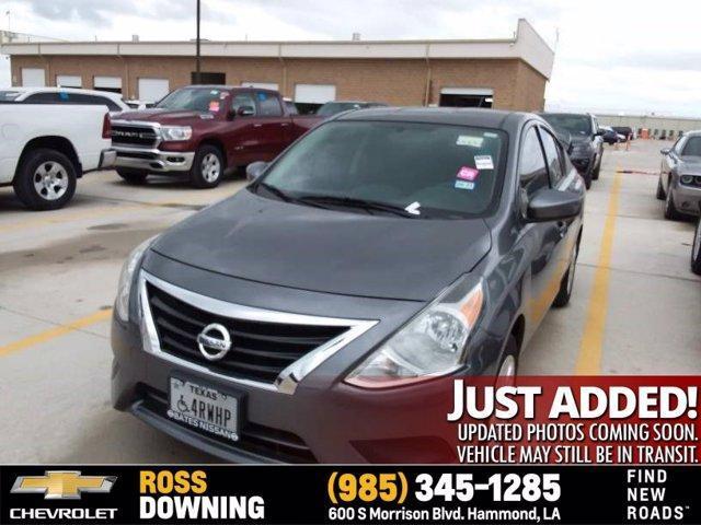 used 2019 Nissan Versa car, priced at $17,303