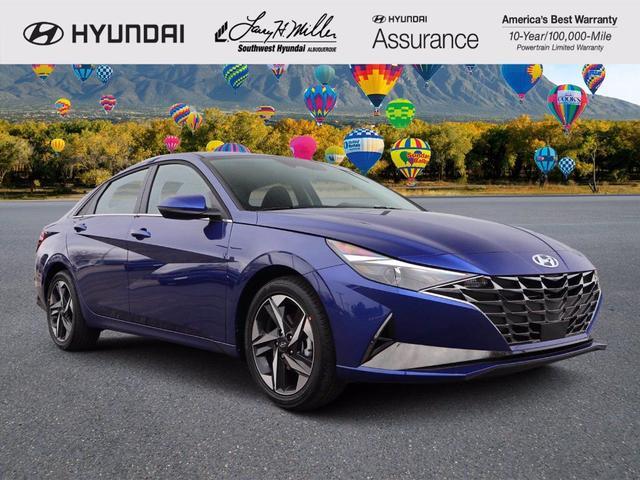 new 2021 Hyundai Elantra car, priced at $23,750