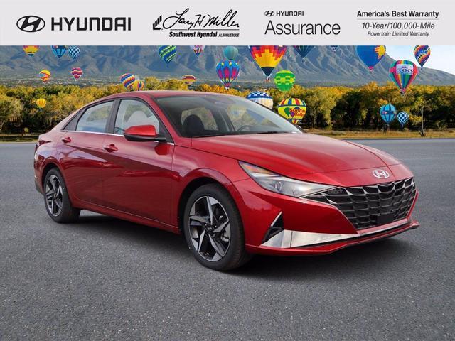 new 2021 Hyundai Elantra car, priced at $23,422
