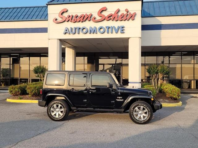 used 2017 Jeep Wrangler Unlimited car